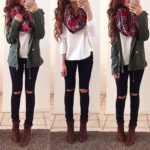 winter outfit idea   Tumblr