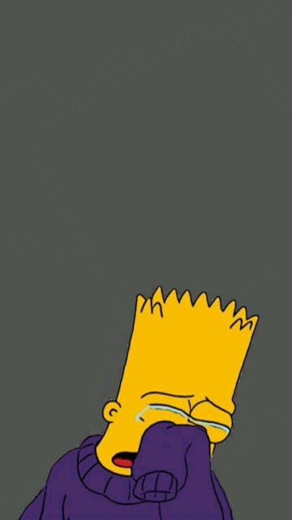 Simpsons Bart Crying