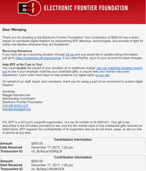 Eff Support Net Neutrality