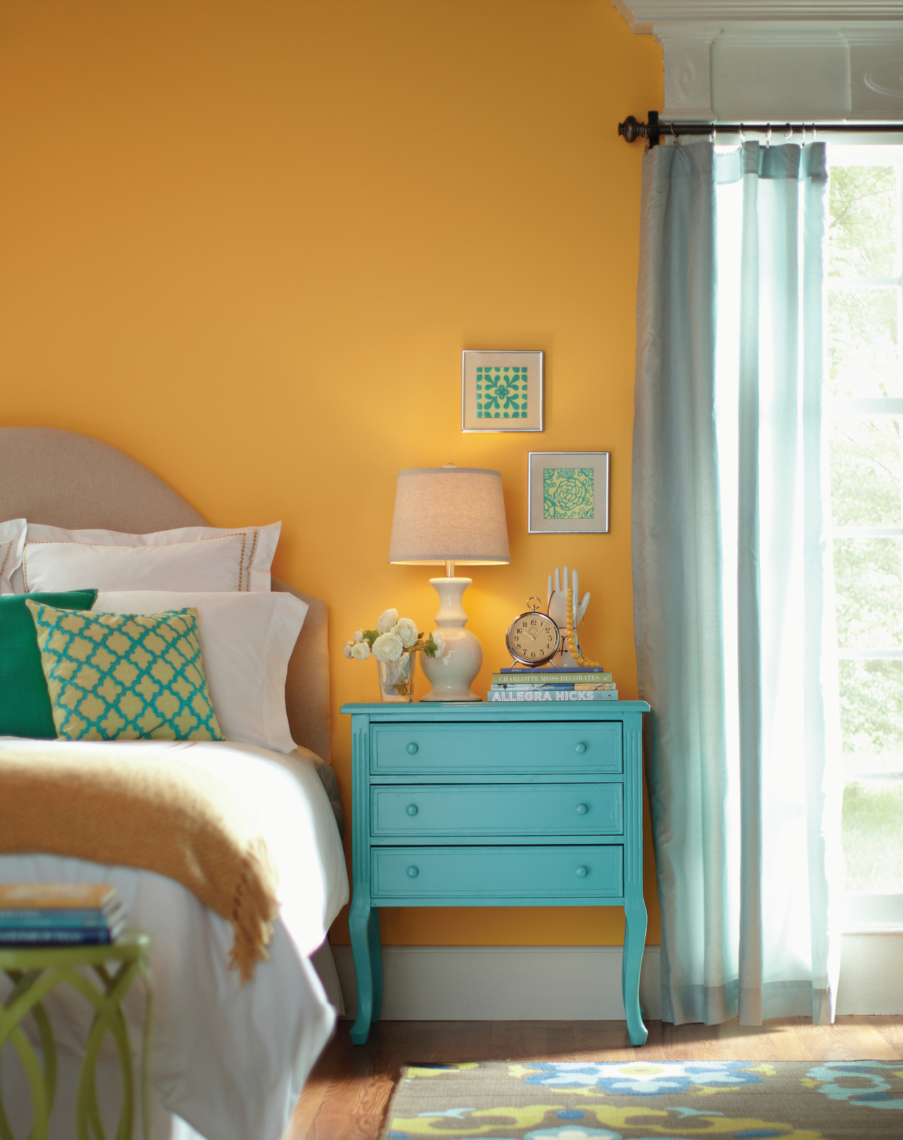 Behr Yellow Interior Paint