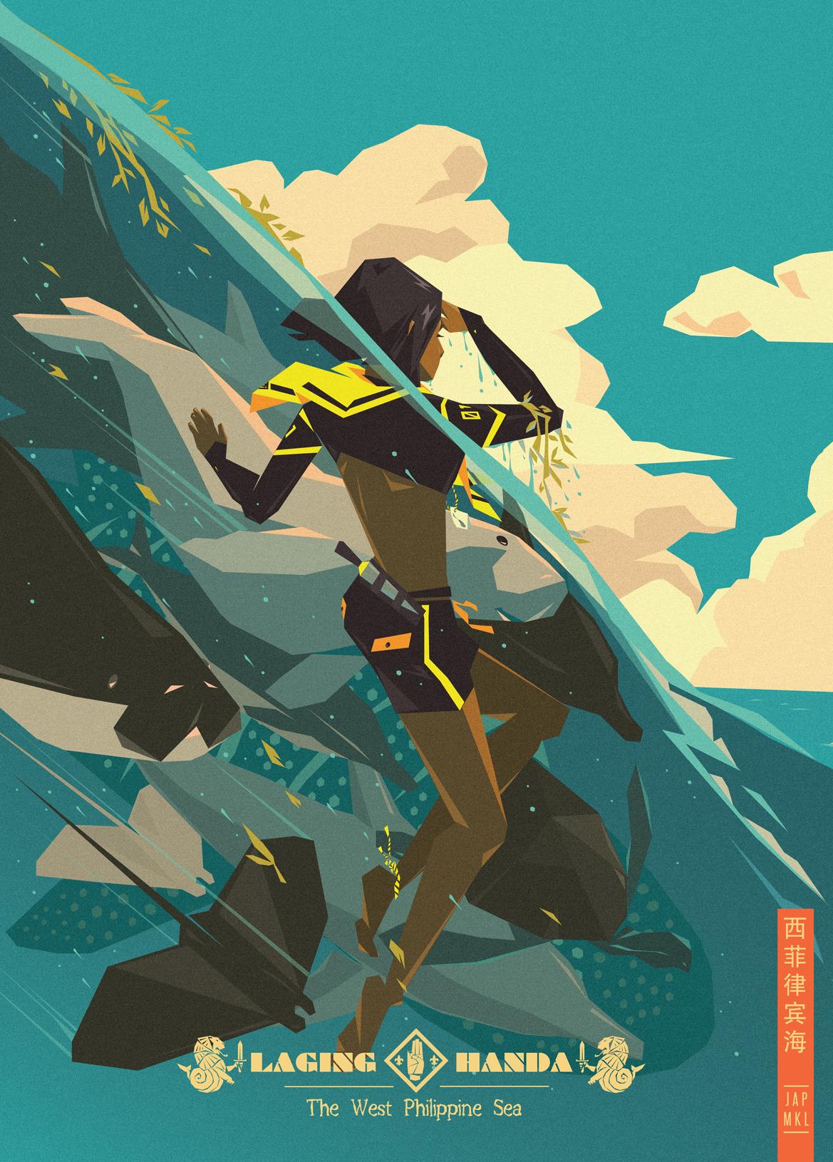 Jap Mkl The Ultramar Leones Troop West Philippine Sea