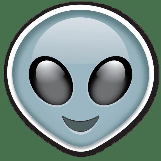 Transparent Tumblr Alien Emoji