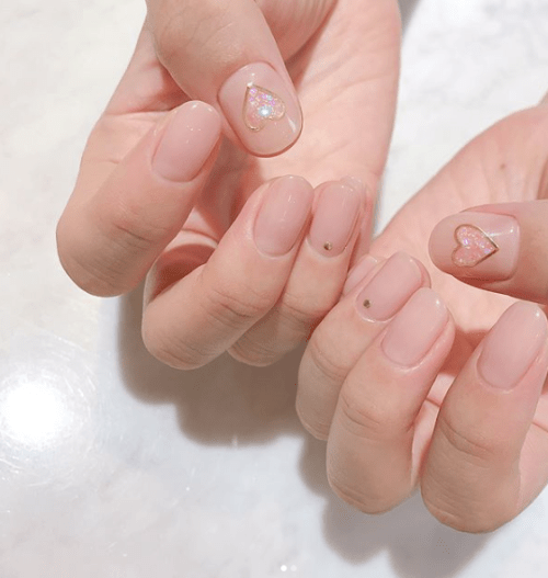 Acrylic Aesthetic Nails Winter Largest Wallpaper Portal