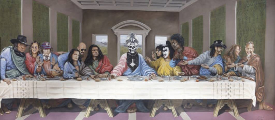 judas leaves last supper into the night - 1062×465