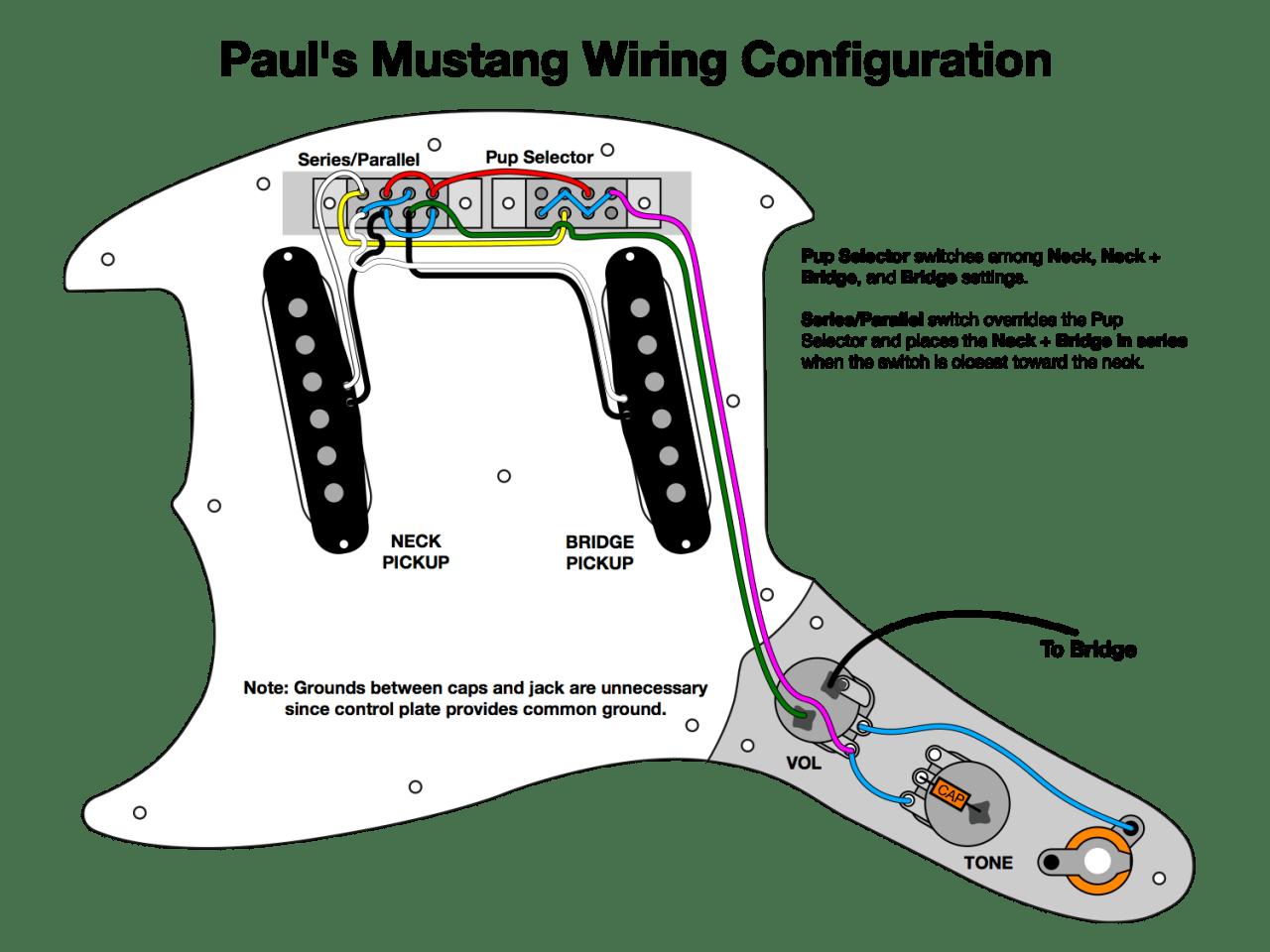 Jazzmaster Wiring Diagram