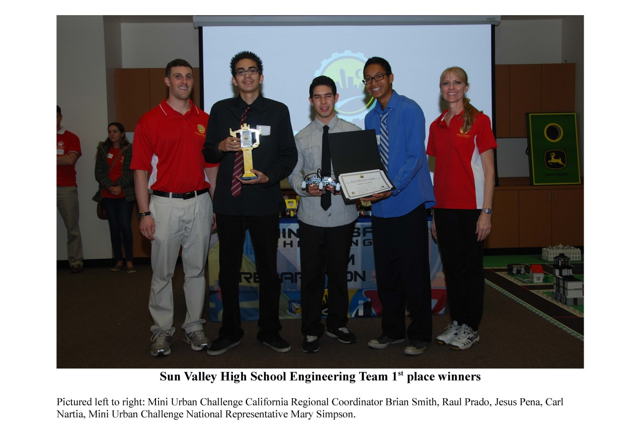 LAUSD • nurymartinez: Engineering teams from Sun Valley...