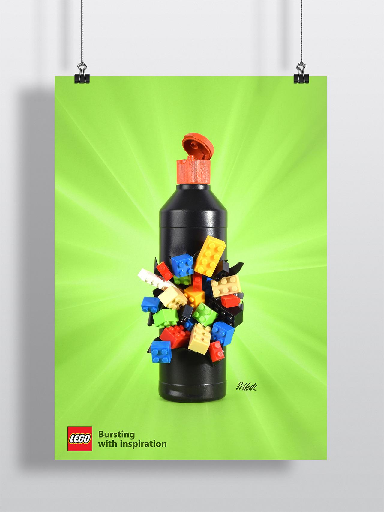 Legosaurus Lego Bursting With Inspiration Series By