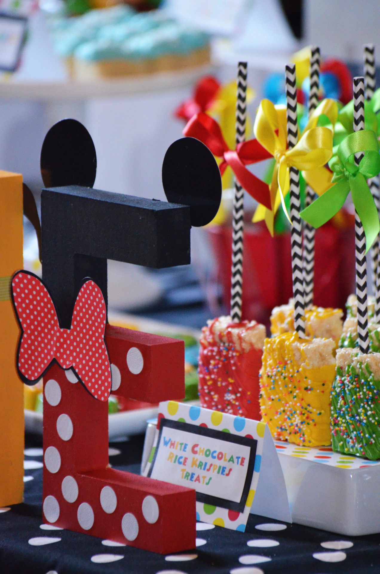 Buffet Disney Tables Candy