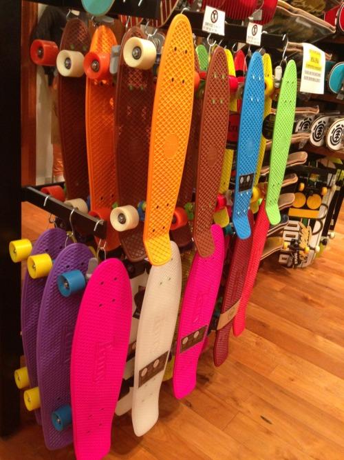 Penny Pink Board Wheels Blue Nickel