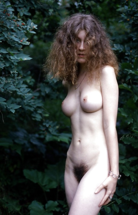 "hairywomenrock: ""Hairy outdoor nudist!! """