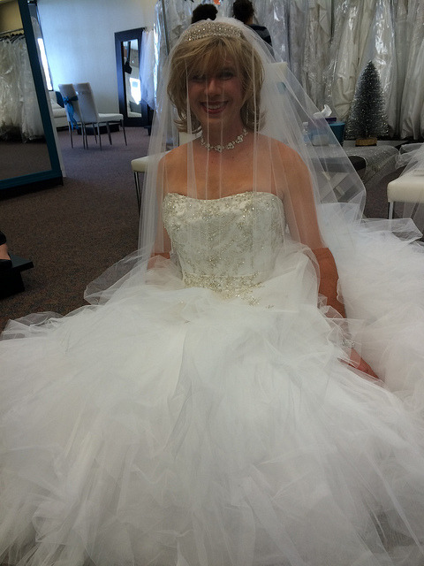 This Beautiful Bridal Crossdresser Is Angie The