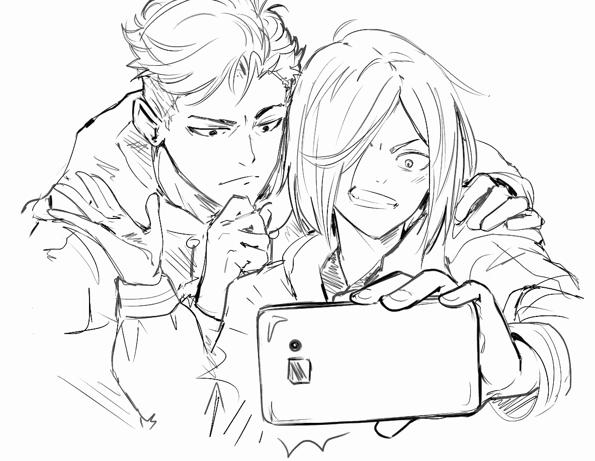 Yuri Ice Coloring Pages