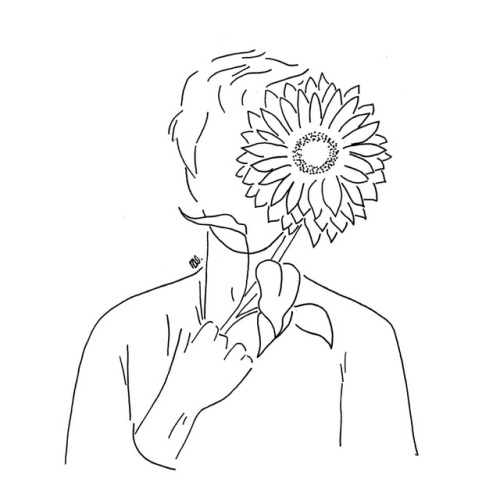 Line Drawing Aesthetic Tumblr Hands