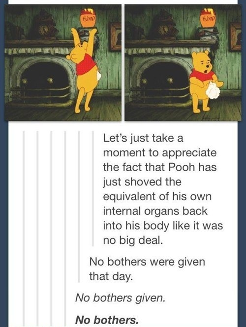 Bother Whinnie Pooh