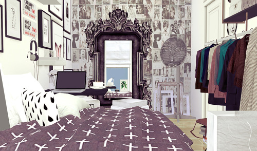 House Sims 3 Curtains Opera