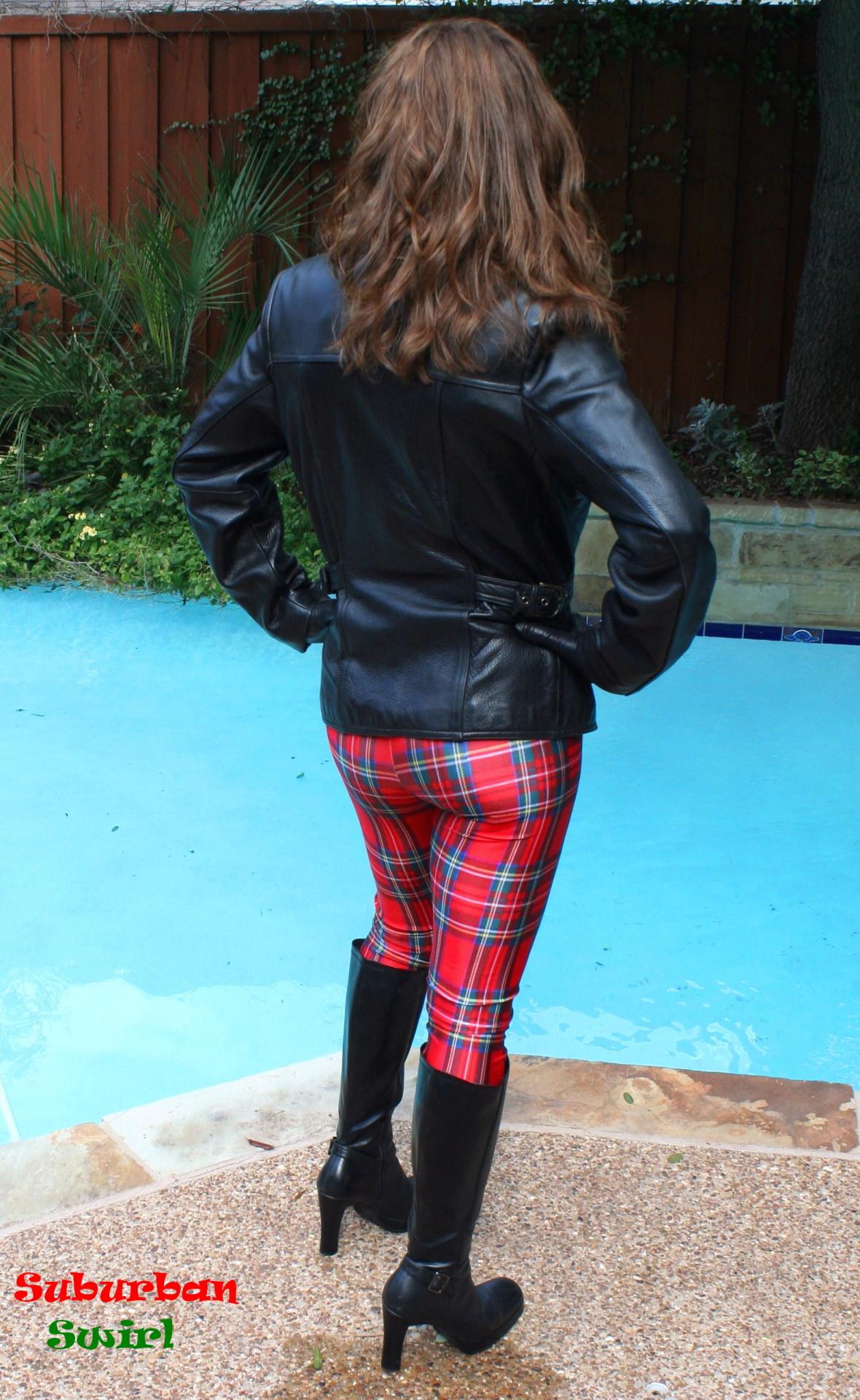 Long Riding Skirt Boots