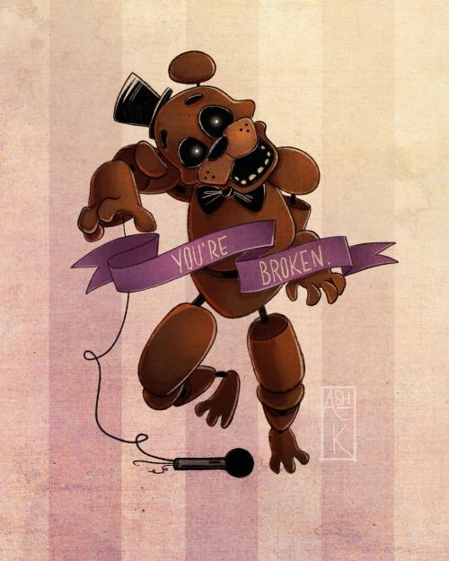 Freddy Fazbear And Gang