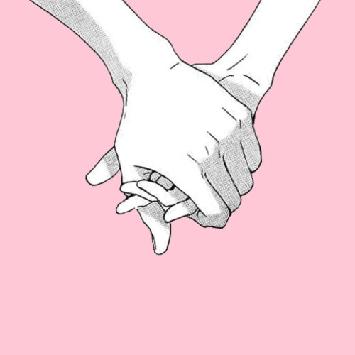 Tumblr Aesthetic Drawing Holding Hands