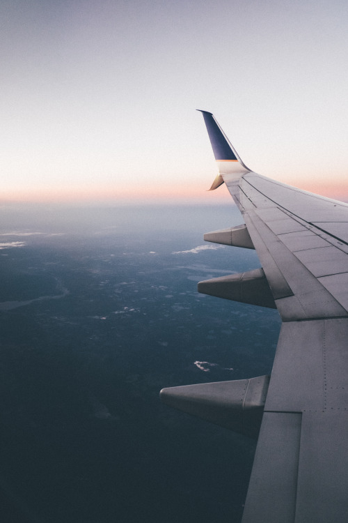 Tumblr Airplane Sunset