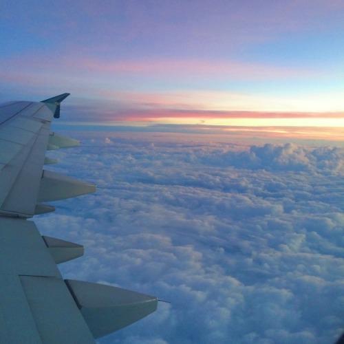 Tumblr Airplane Sunset