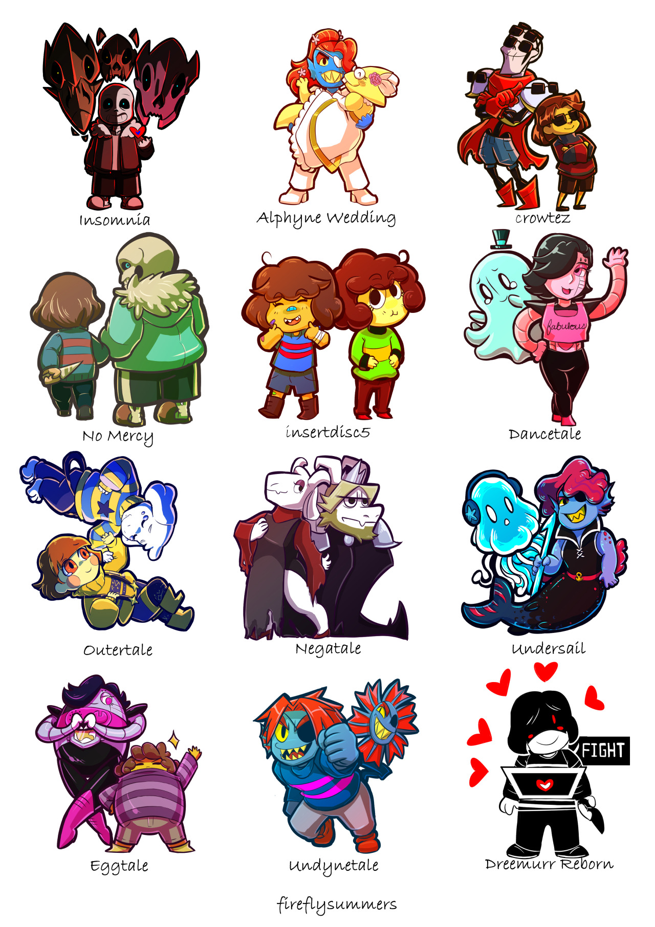 All Papyrus And And Sans Mtt