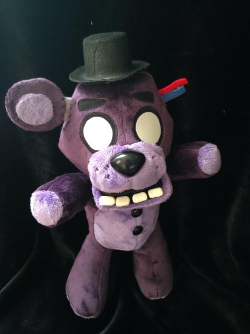 Pixel Art Freddy Plushie