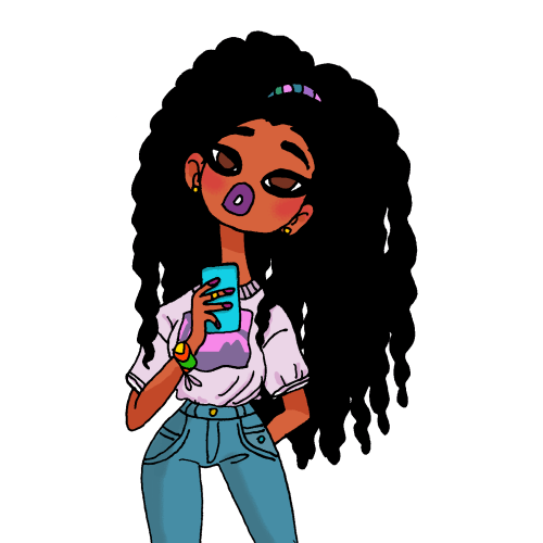 Beauty Drawing Girl Omg