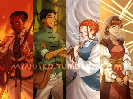 Tamora Pierce     Paper Breathers The Winding Circle kids all grown up  via minuiko
