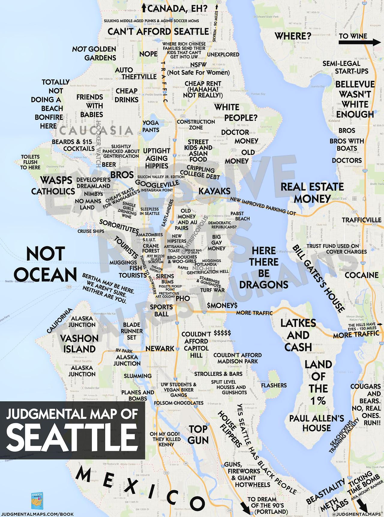 Angeles Judgemental Map Los