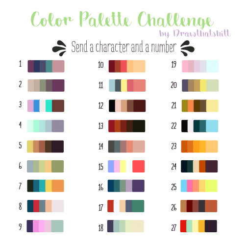 Art Colour Palette Challenge 30