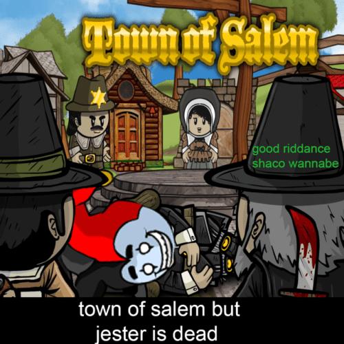 Laughing So Hard Town Salem