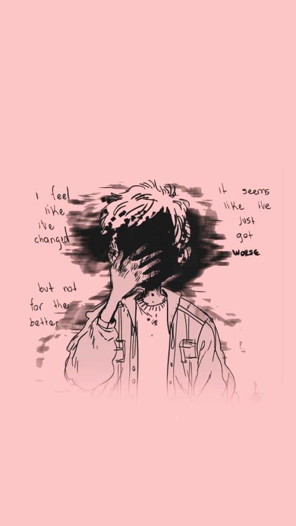 Phone Depressed Quotes Wallpaper