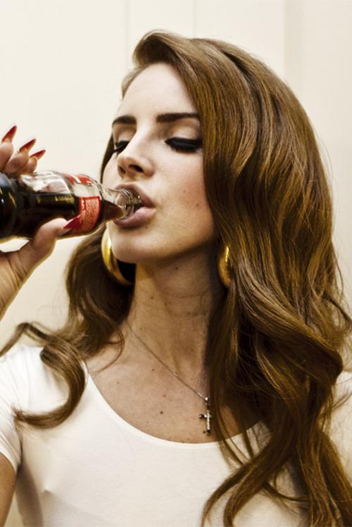 Coca Drinking Tumblr Cola Girl