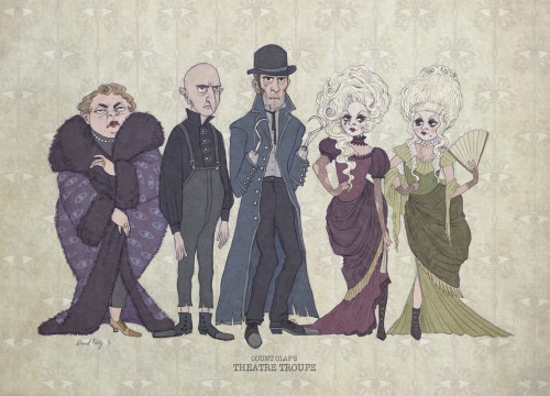 And Baudelaire Orphans Count Olaf