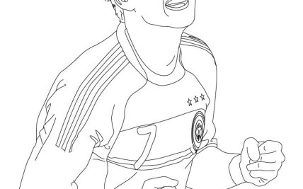 Manuel Neuer Coloring Page Hot Trending Now