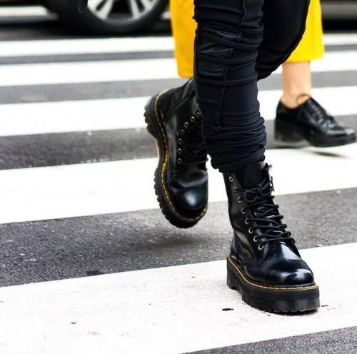 Men Wearing Dr Marten Boots