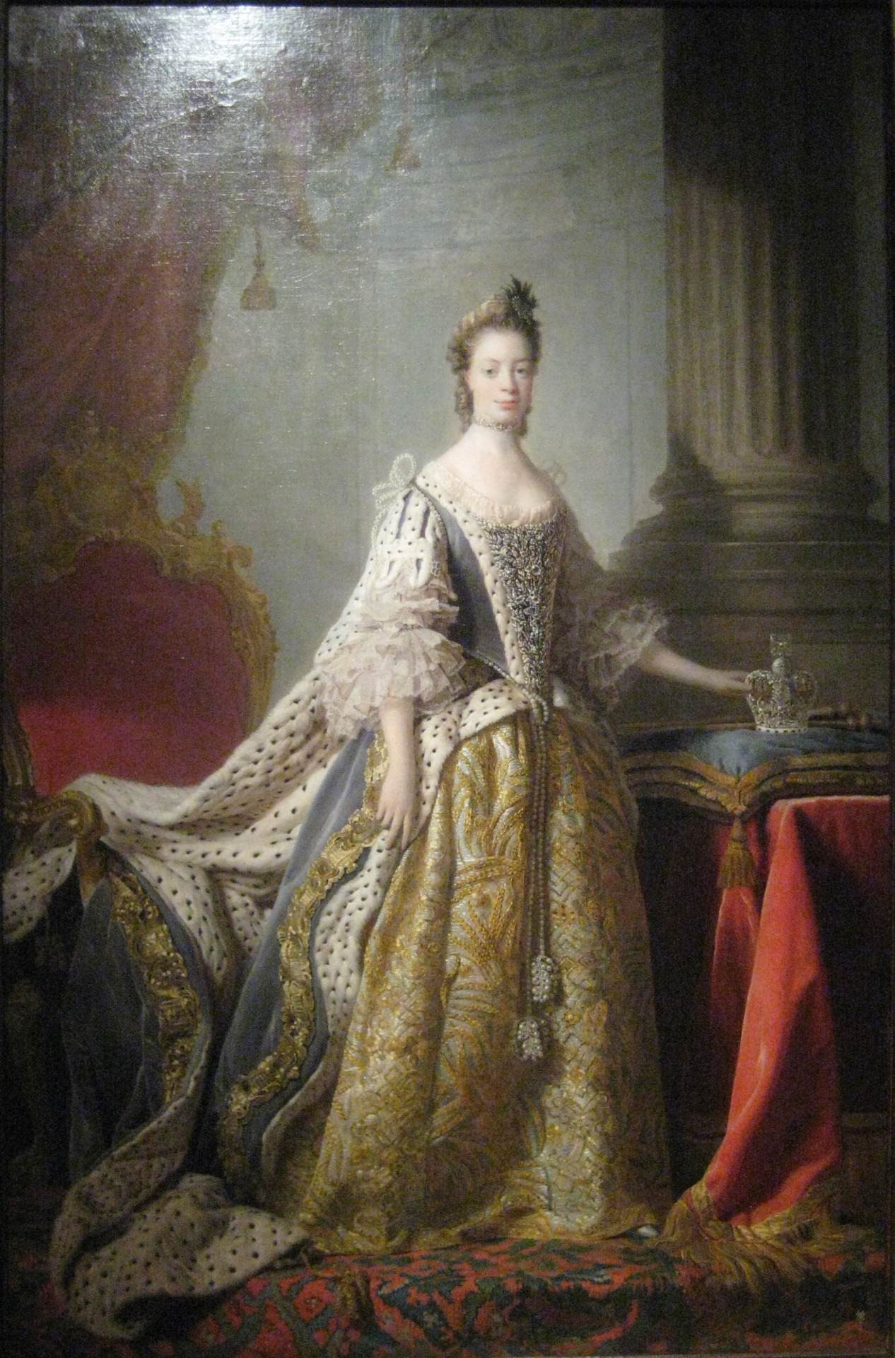 Was Queen Charlotte Sophia Black
