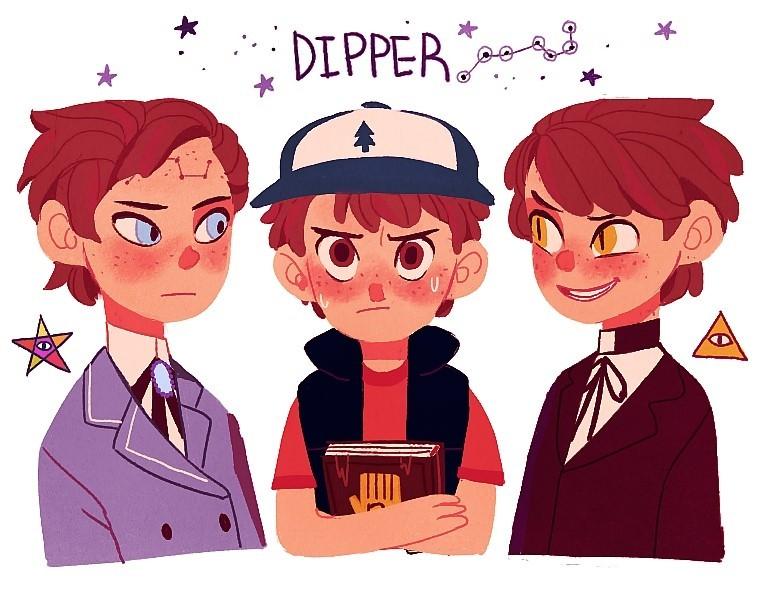 Reverse Dipper X Tyrone