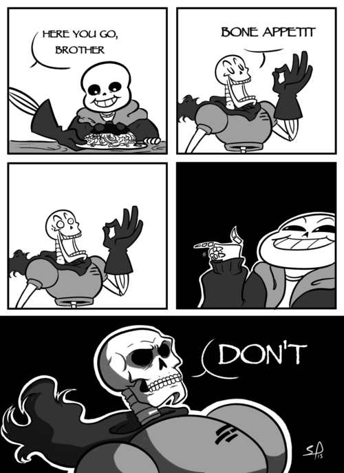 Papyrus Scary Sans Spooky Skeletons