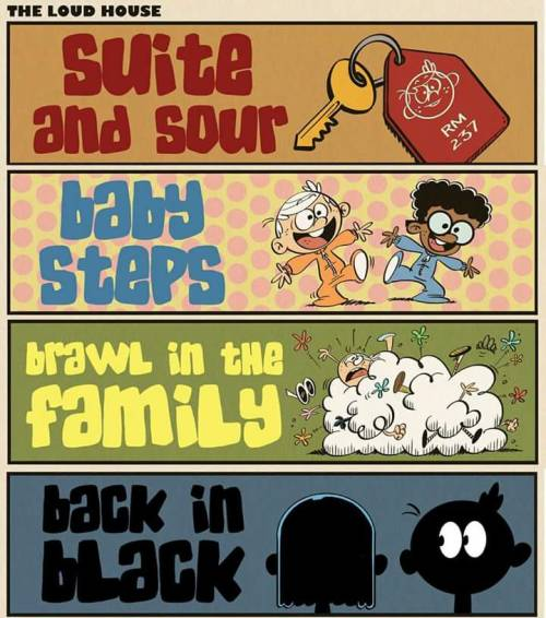 Sour Suite And Loud House