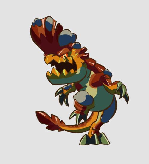 Monster Hunter Dragon Art