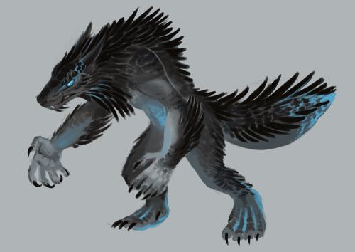 Skyrim Dragonborn Werewolf Lord