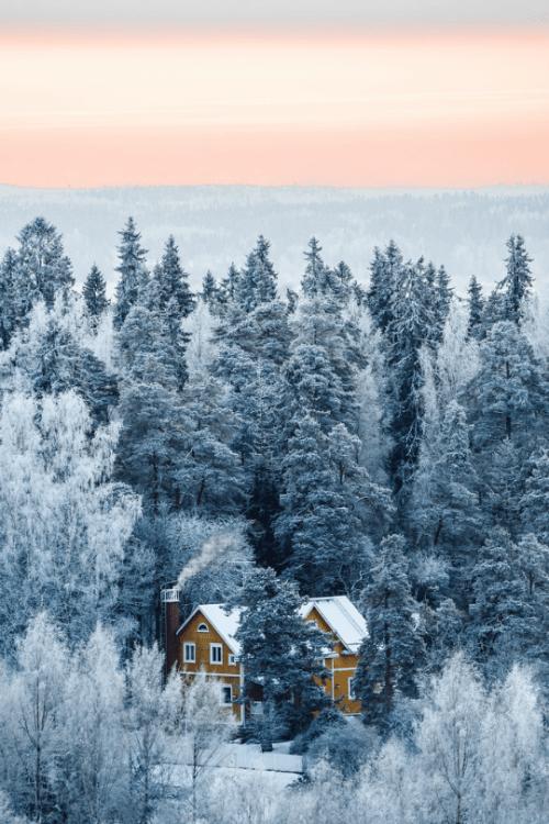 winter scenery on finland | Tumblr