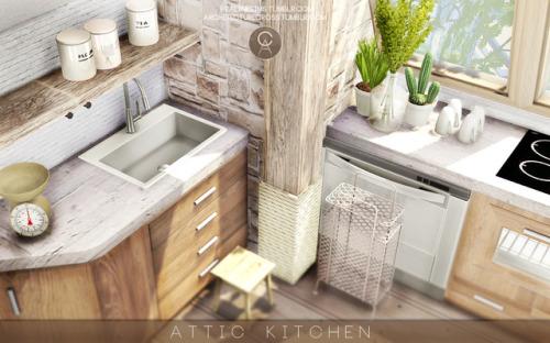 Kitchen Decor Sims 4