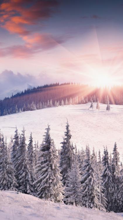 winter lockscreen | Tumblr