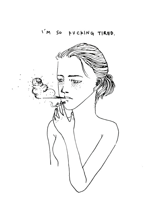 Sad Cartoon Girl Drawings Tumblr
