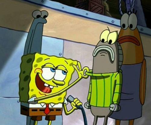 Spongebob Christmas Sweater