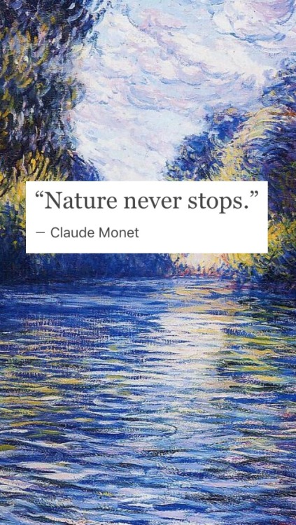 Claude Monet Quotes Tumblr   Painting For Home