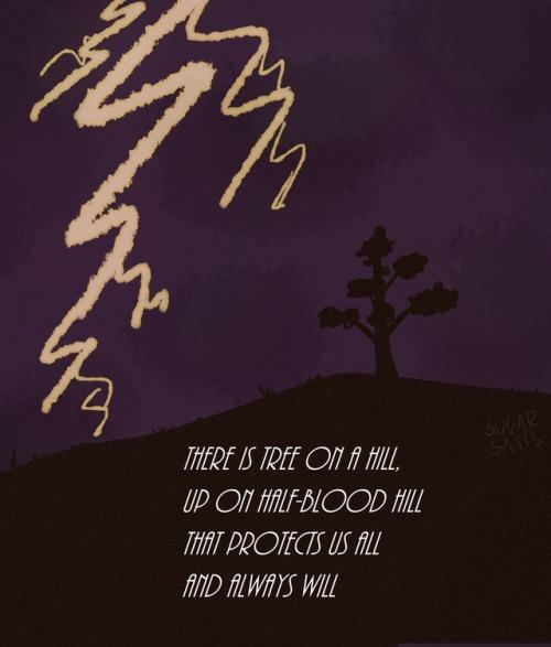 Lightning Thief Musical Grover Fan Art