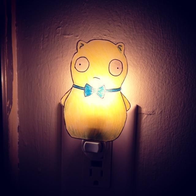 Kuchi Kopi Night Light